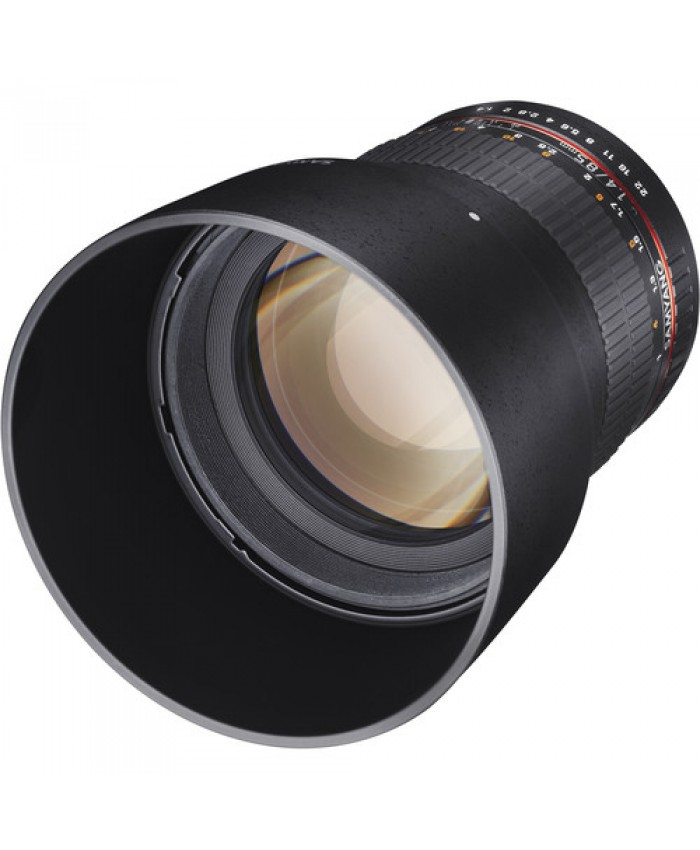 Samyang 85mm f/1.4 Aspherical Lens for Canon