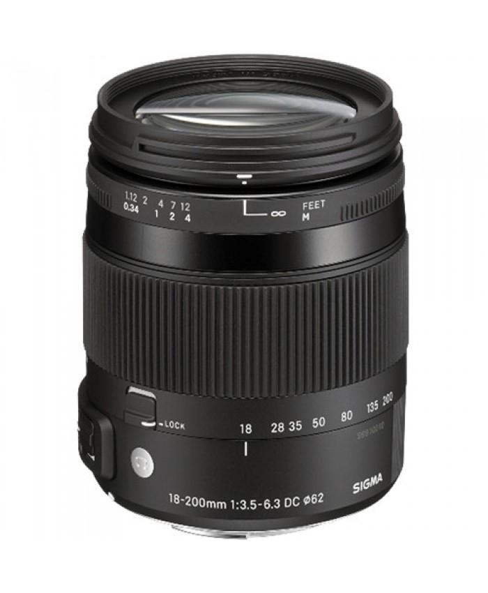 Sigma 18-200mm f/3.5-6.3 DC Macro OS HSM ART - Canon